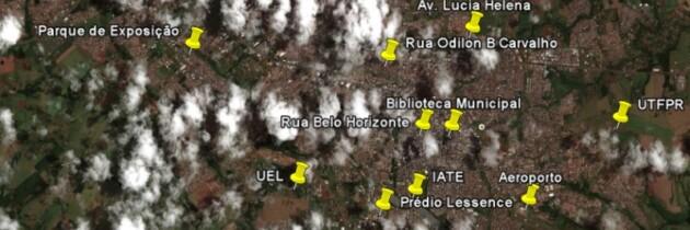Ilha de calor em Londrina: Pontos quentes da cidade